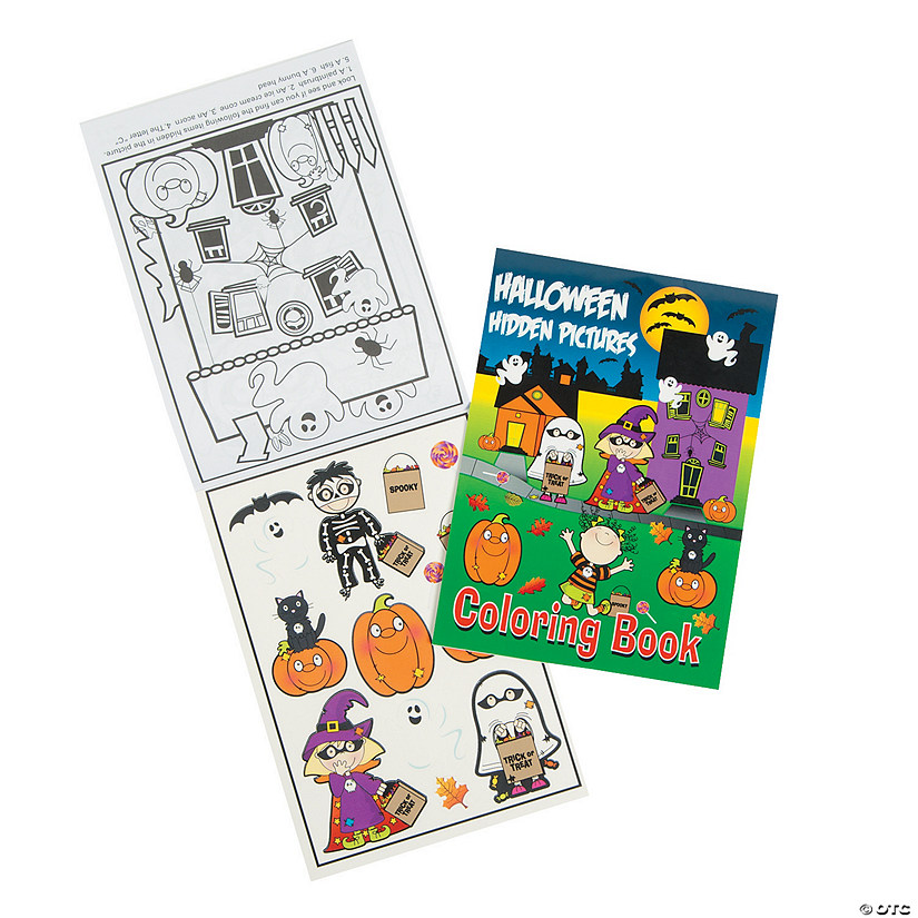 Halloween Image Hunt Coloring Books Audio Thumbnail