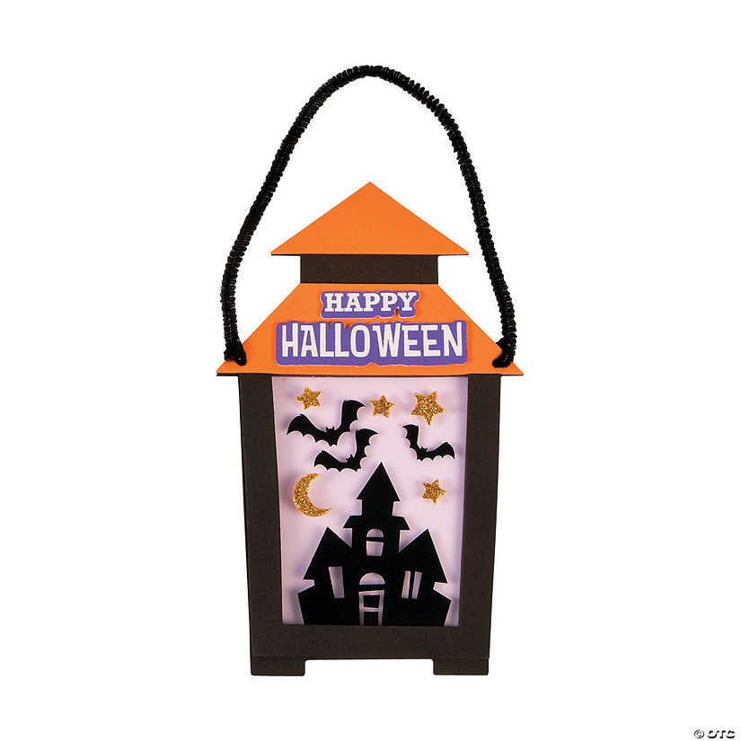 Halloween Lantern Sign Craft Kit Audio Thumbnail