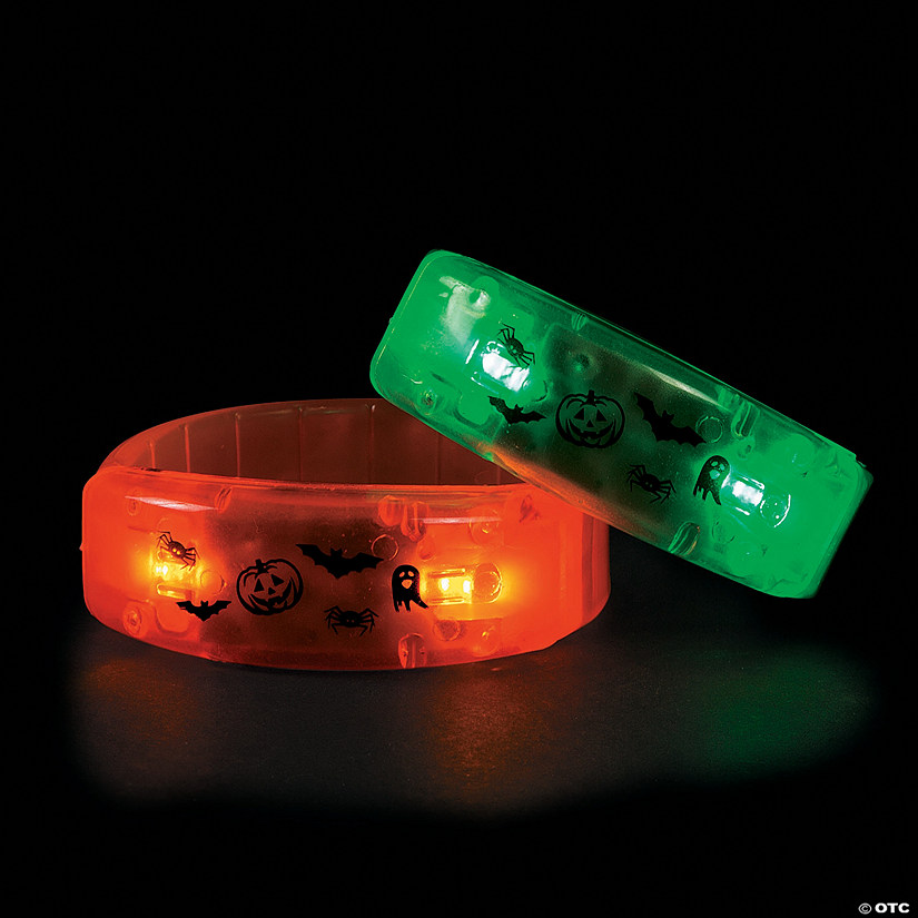 Halloween Light-Up Bracelets