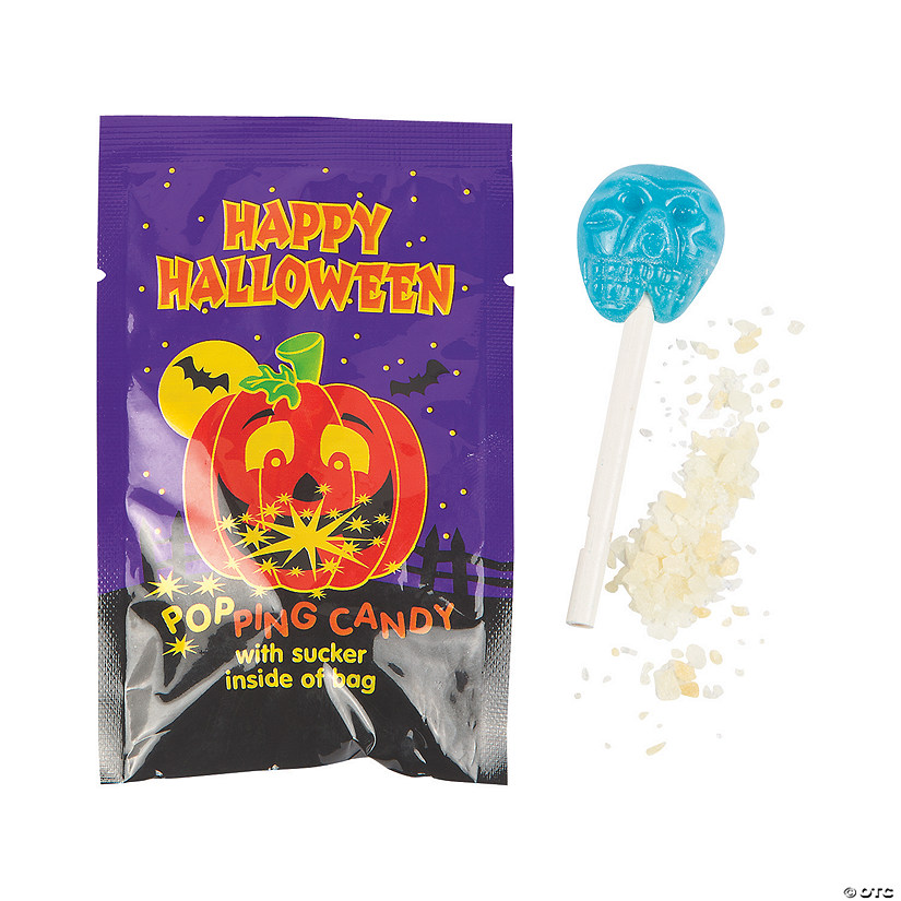 Halloween Lollipops with Popping Candy Image Thumbnail