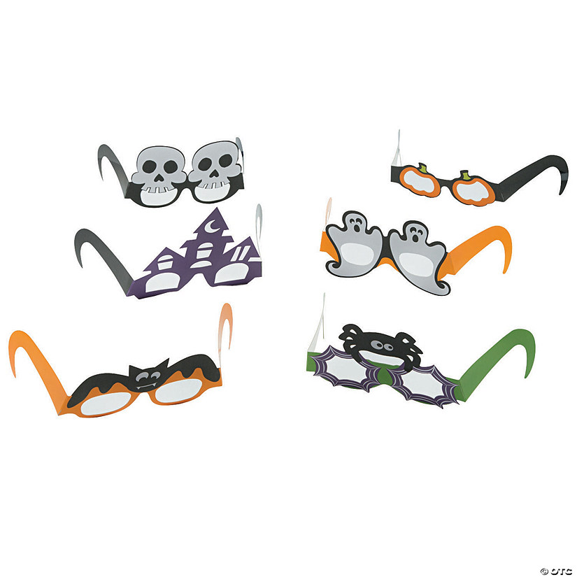 Halloween Party Paper Glasses Audio Thumbnail