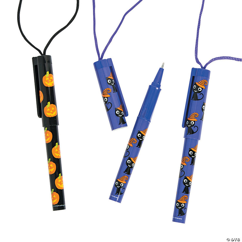 Halloween Pens on a Rope