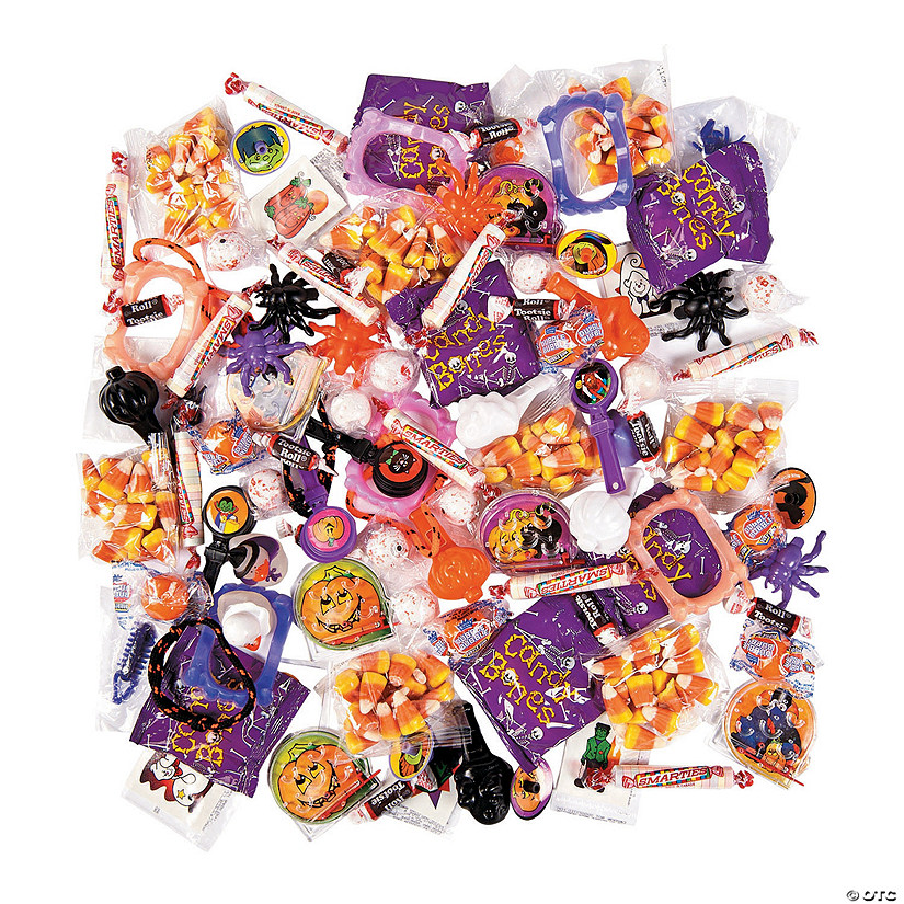 Halloween Piñata Toy & Candy Assortment Image Thumbnail