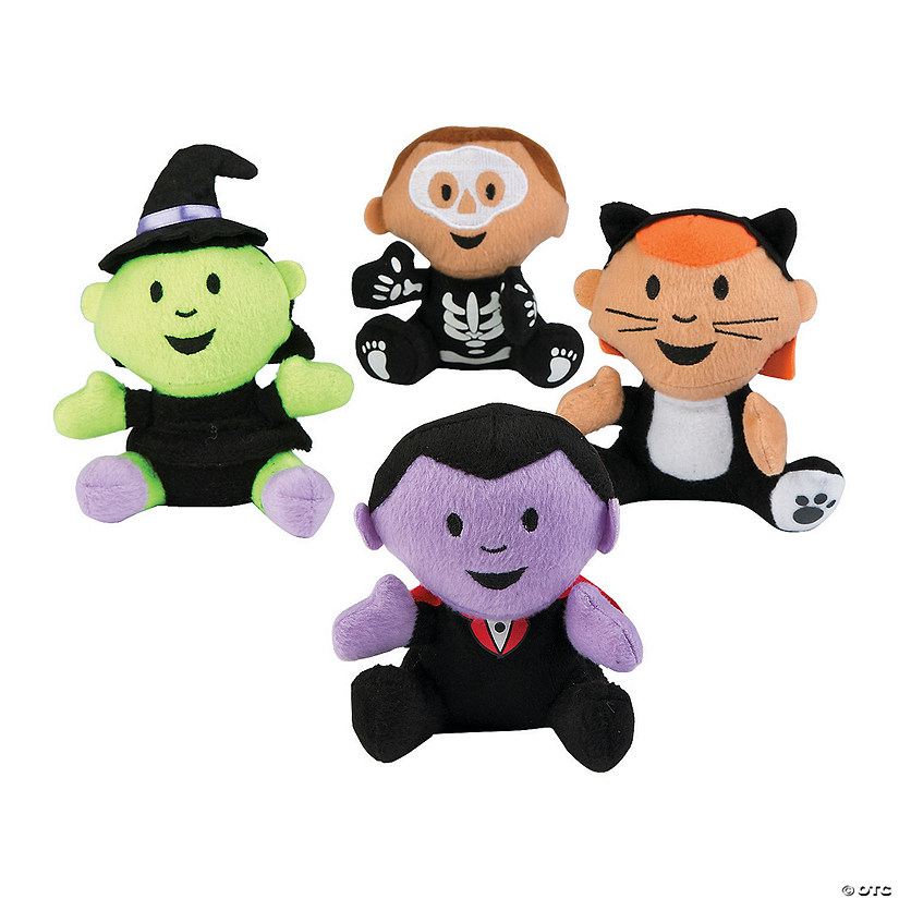 Halloween Plush Characters in Costume Audio Thumbnail