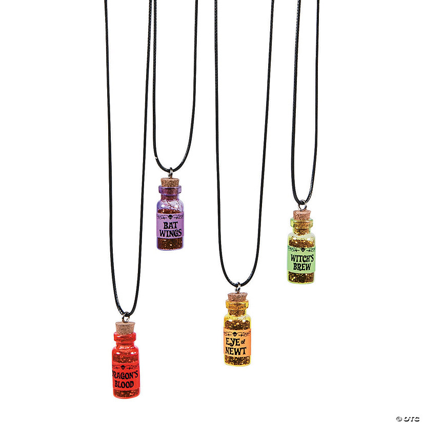Halloween Potion Necklaces Image Thumbnail