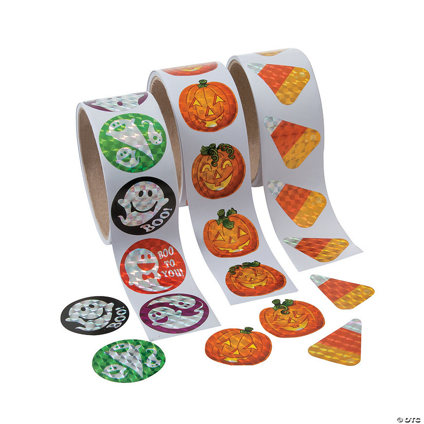Halloween Prism Sticker Assortment Audio Thumbnail