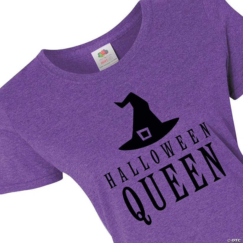 Halloween Queen Women's T-Shirt Audio Thumbnail