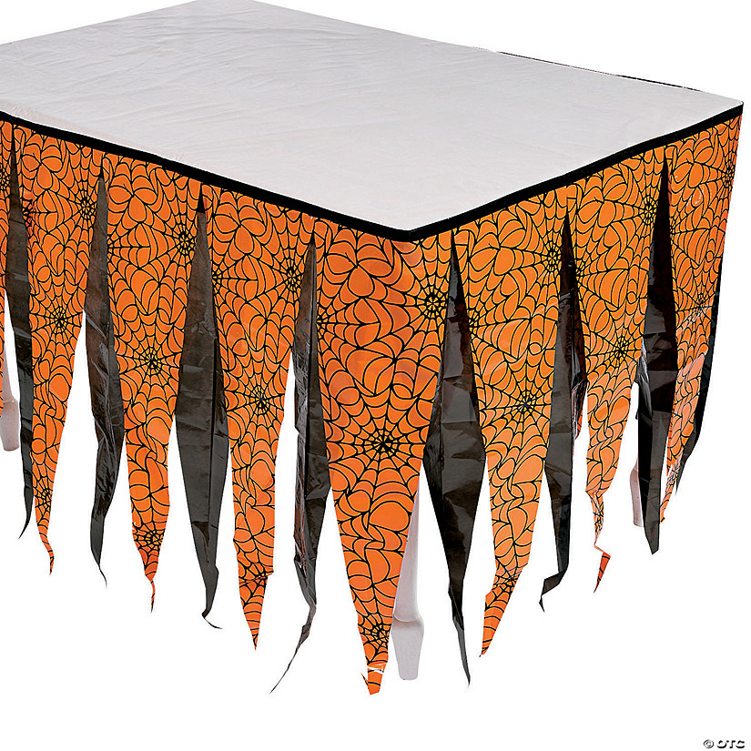 Halloween Silhouette Table Skirt