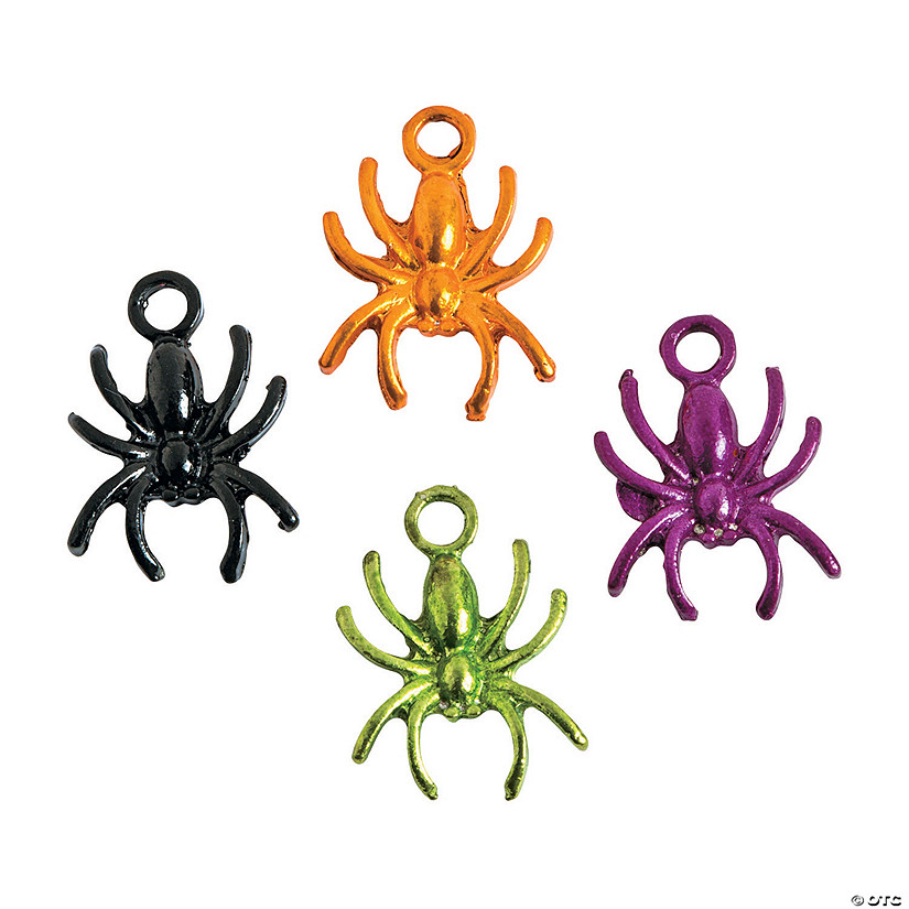 Halloween Spider Charms Image Thumbnail