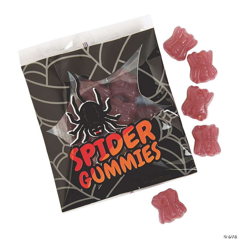 Halloween Spider Gummy Candy Packs Audio Thumbnail