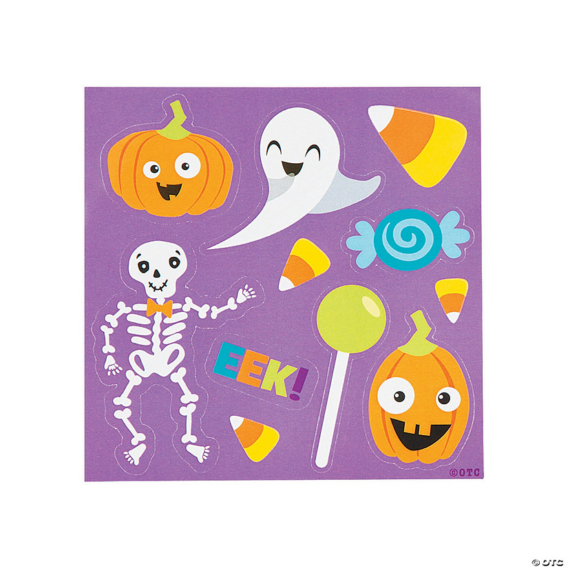 Halloween Sticker Sheets Image Thumbnail