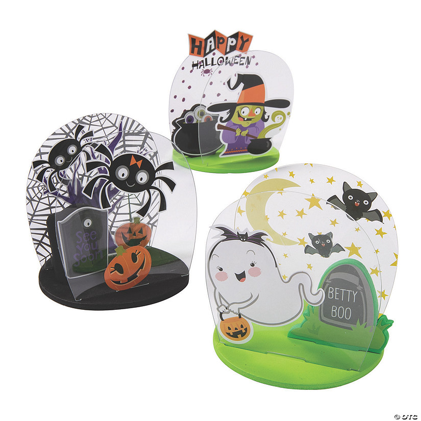 Halloween Sticker Tabletop Craft Kit Audio Thumbnail