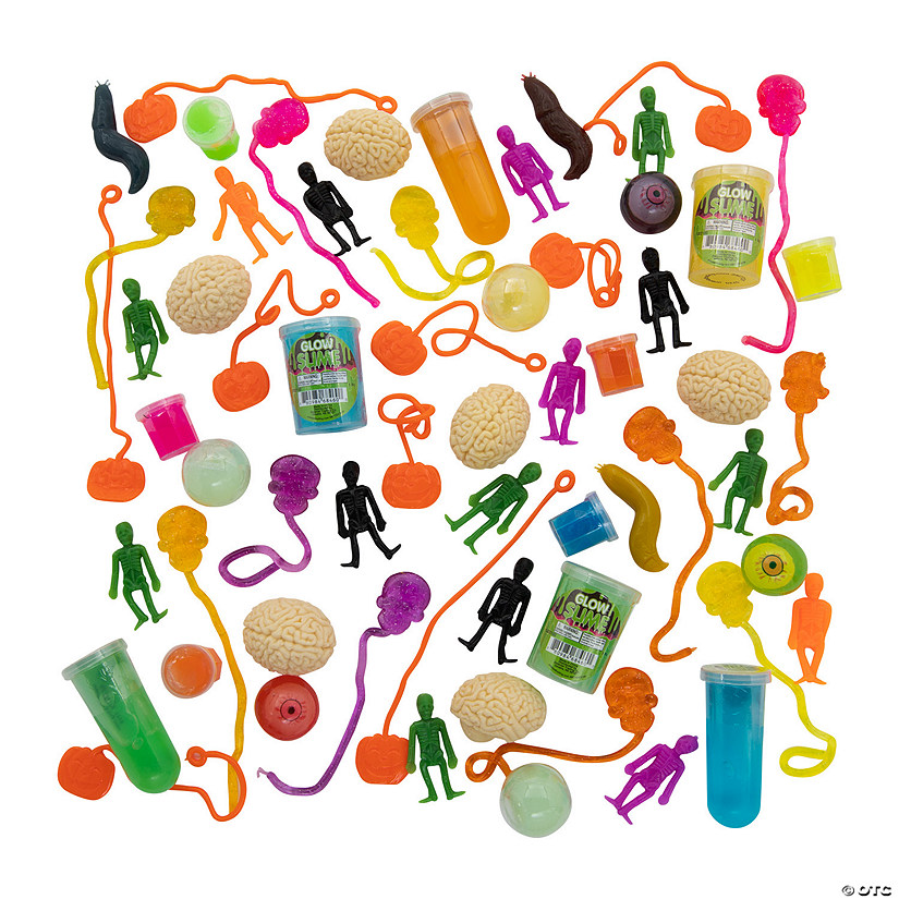 Halloween Sticky Toy & Slime Assortment Image Thumbnail