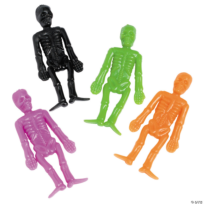Halloween Stretch Skeletons Image Thumbnail