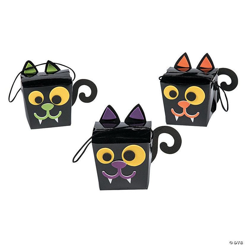 Halloween Treat Box Craft Kit Image Thumbnail
