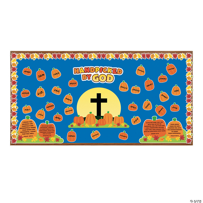 Handpicked by God Bulletin Board Set