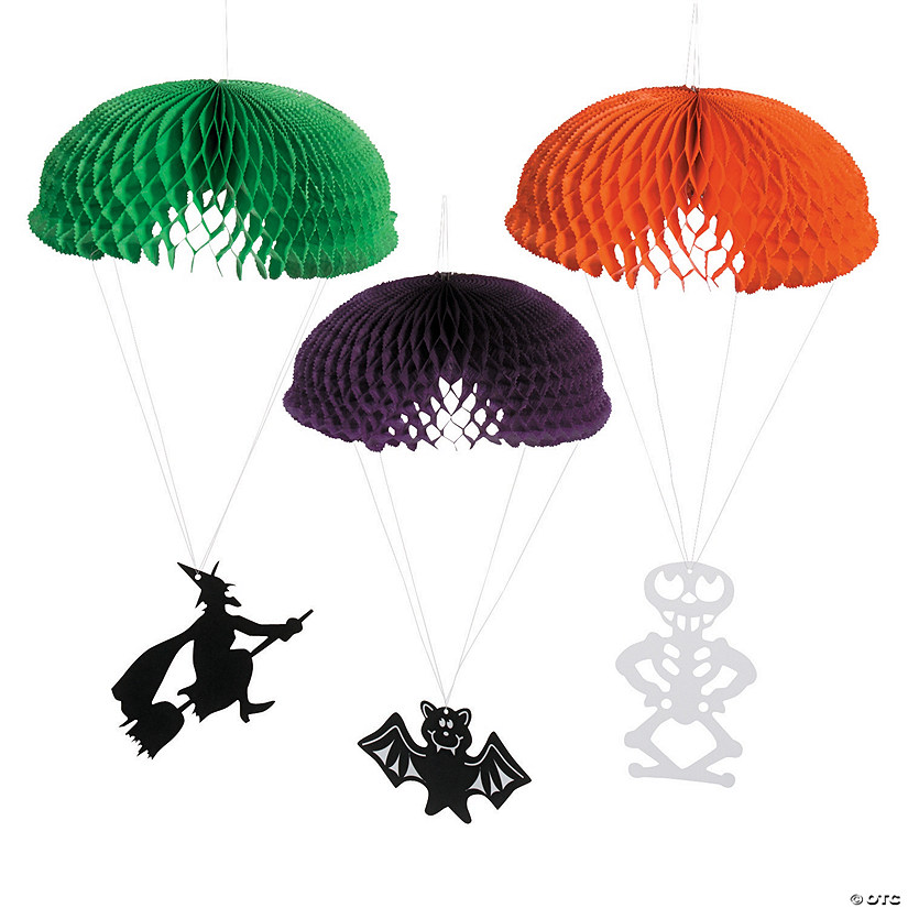 Hanging Characters Halloween Decorations Image Thumbnail