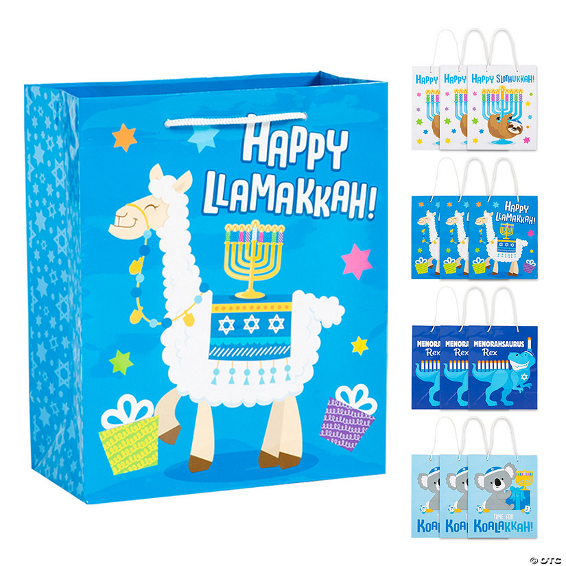 Hanukkah Animal Gift Bags Audio Thumbnail