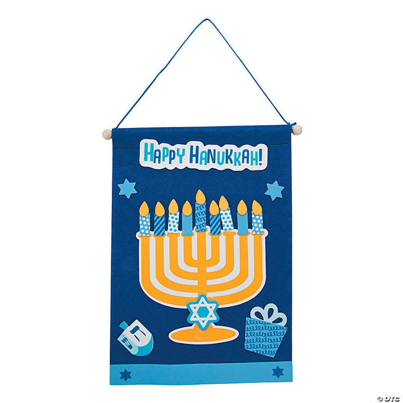 Hanukkah Banner Craft Kit Image Thumbnail