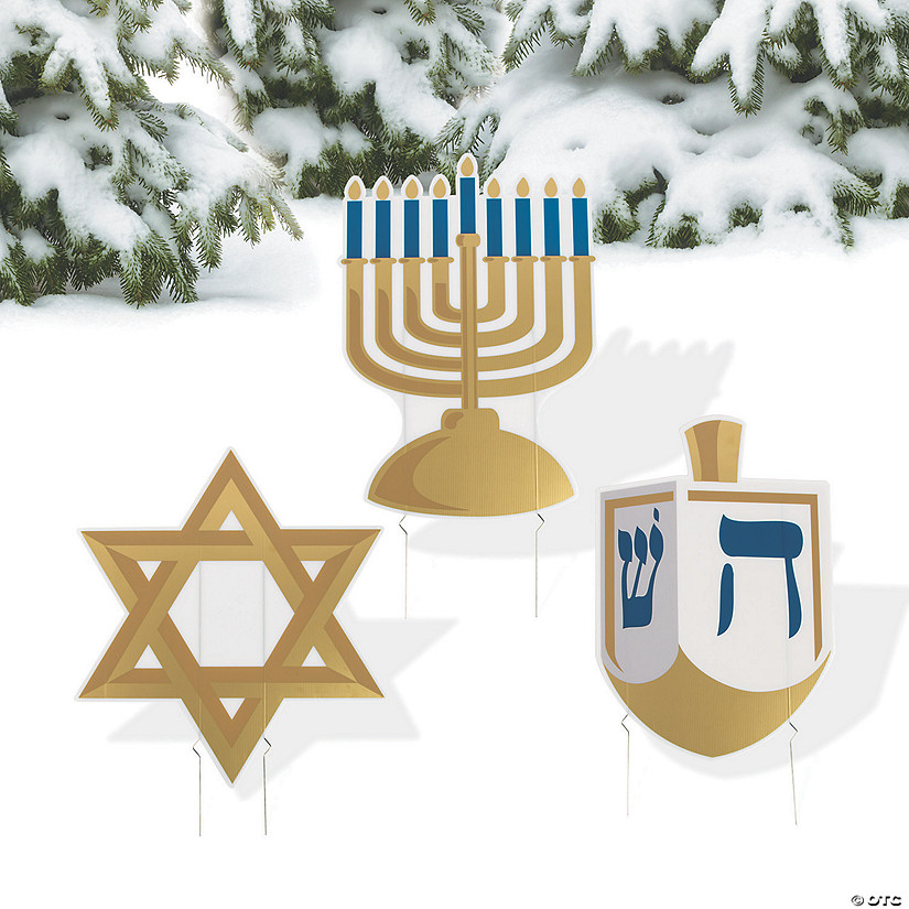 Hanukkah Yard Signs Audio Thumbnail