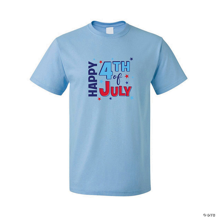 Happy 4th of July Adult's T-Shirt Image Thumbnail