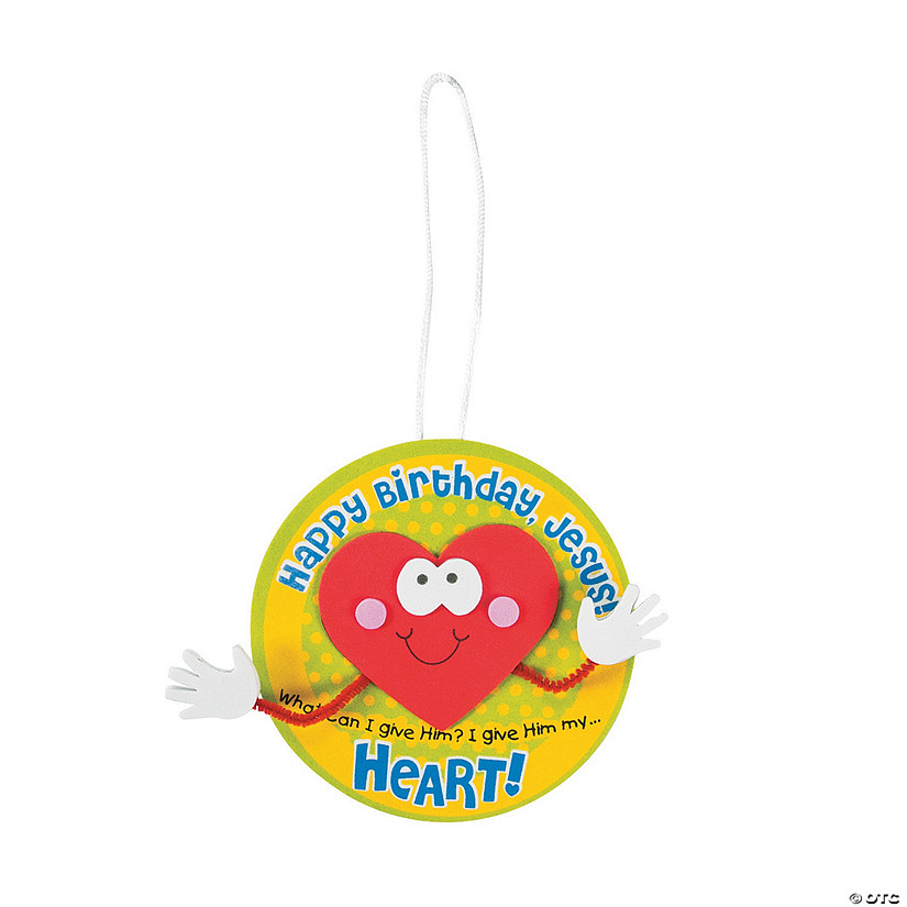 Happy Birthday Jesus Ornament Craft Kit