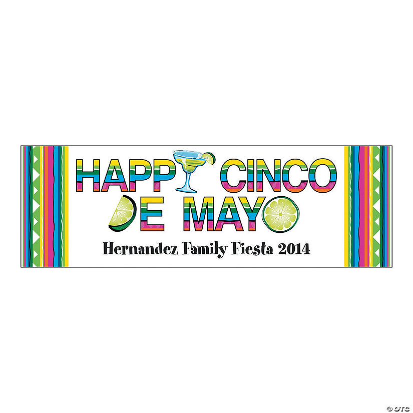Happy Cinco de Mayo Party Custom Banner Audio Thumbnail