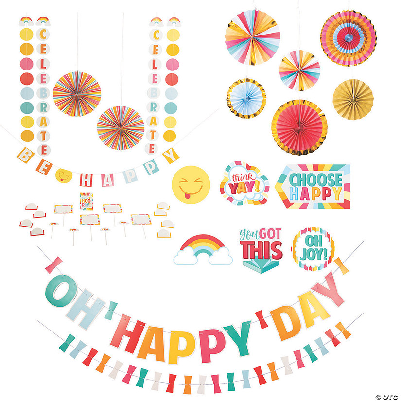 Happy Day Good Vibes Decorating Kit Image Thumbnail