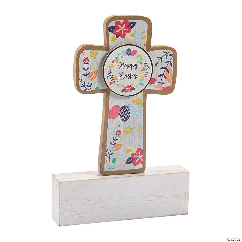 Happy Easter Cross Tabletop Decoration Audio Thumbnail