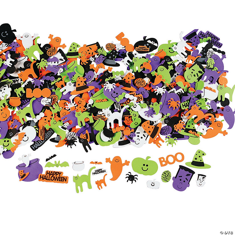 Happy Halloween Self-Adhesive Sticker Shapes Audio Thumbnail