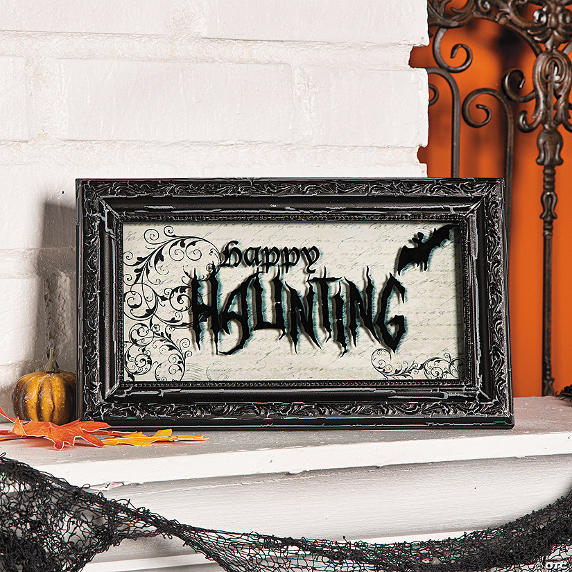 """Happy Haunting"" Sign Audio Thumbnail"