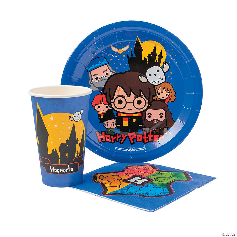Harry Potter™ Chibi Cartoon Tableware Kit for 20  Audio Thumbnail