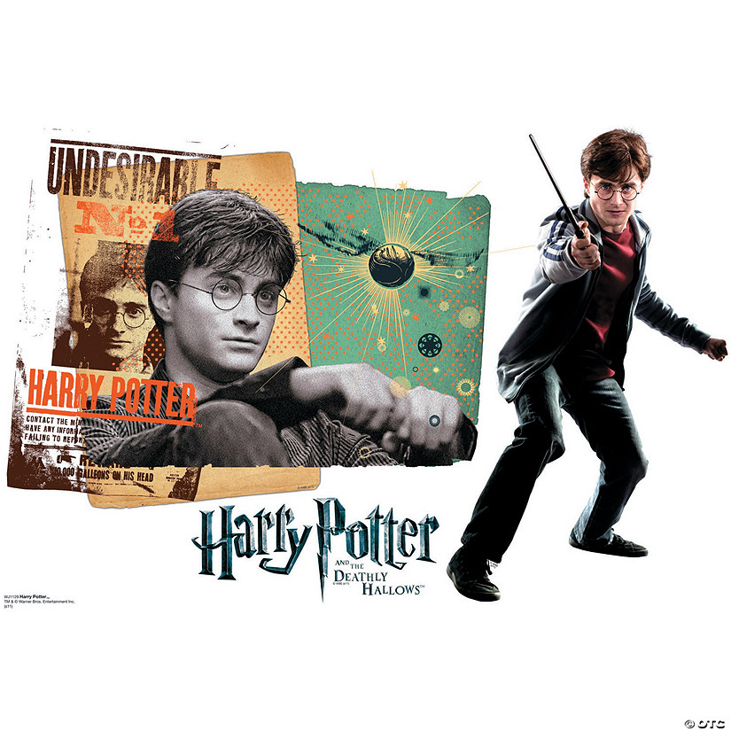 Harry Potter - Harry Potter 7 Wall Jammer™ Wall Decal