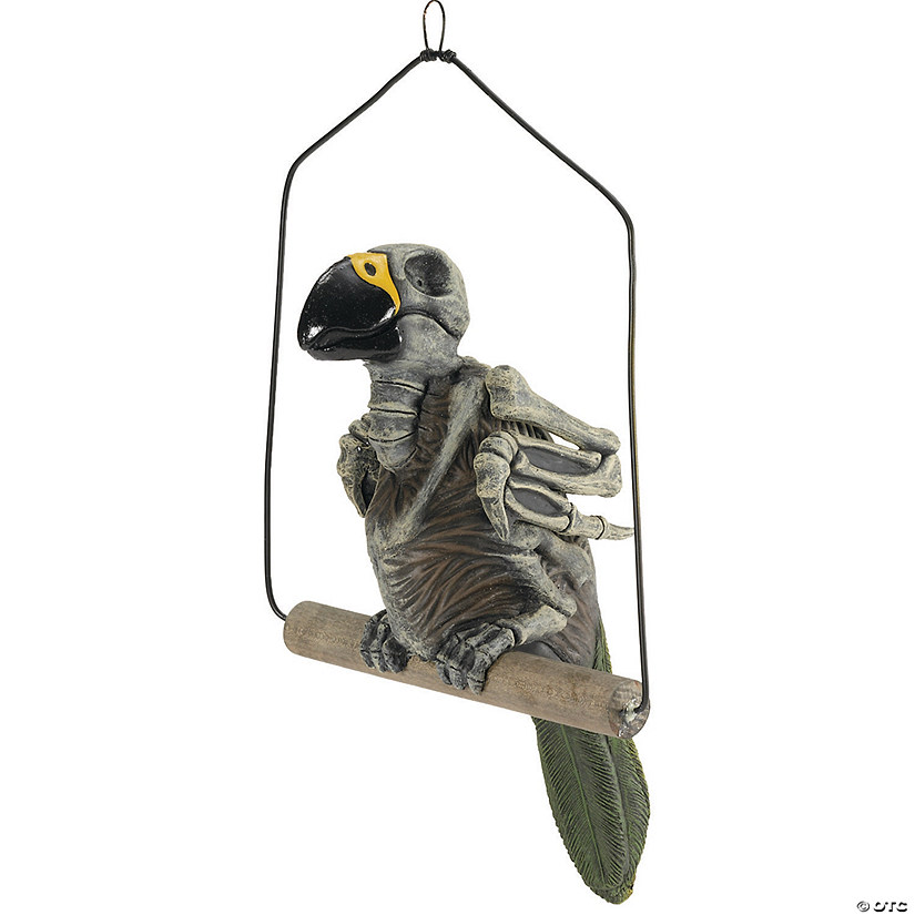 Haunted Parrot Prop Halloween Décor Audio Thumbnail