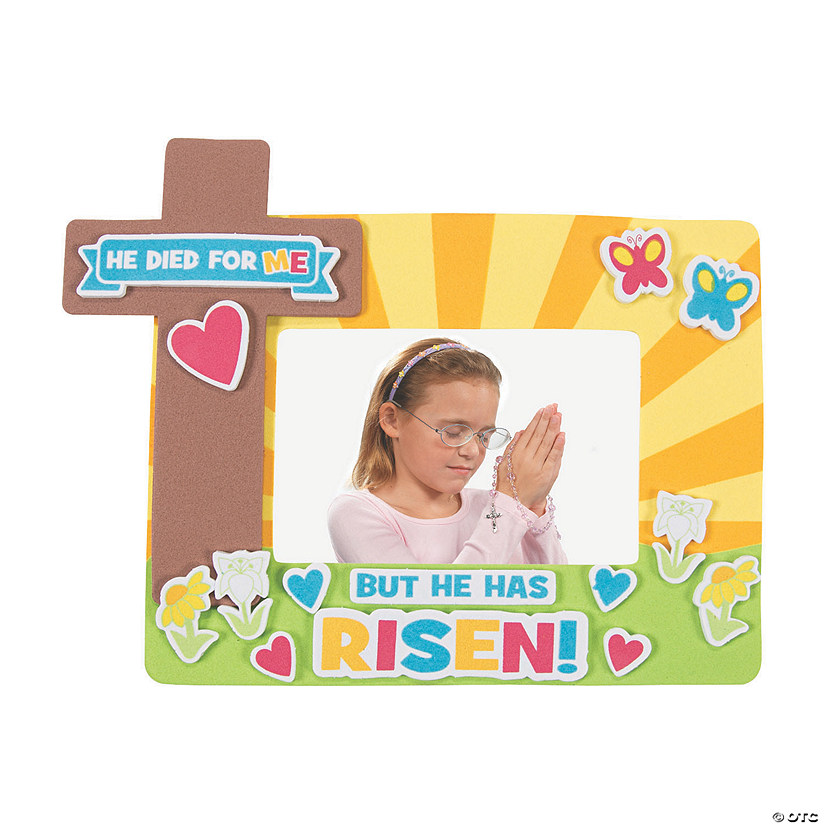 He Died For Me Picture Frame Magnet Craft Kit Audio Thumbnail