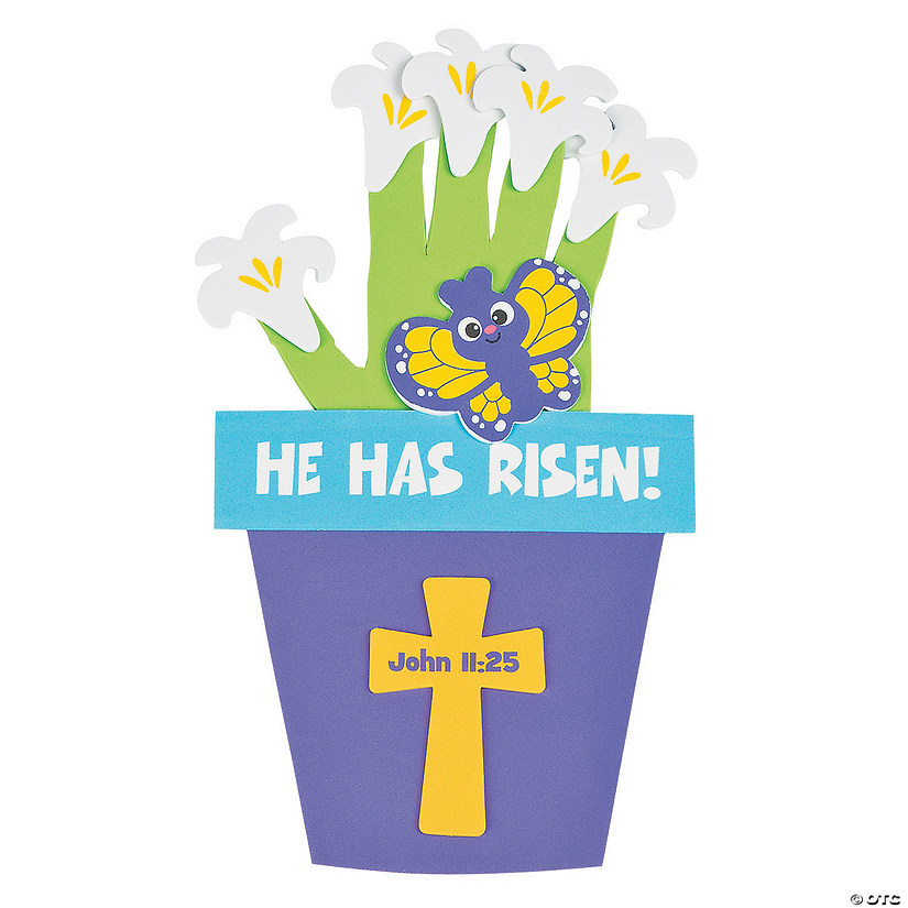 He Has Risen Handprint Craft Kit Audio Thumbnail