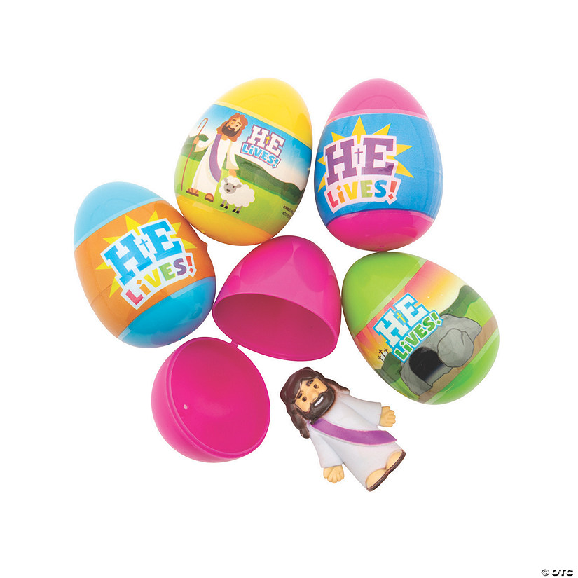 He is Risen Toy-Filled Plastic Easter Eggs - 48 Pc. Audio Thumbnail
