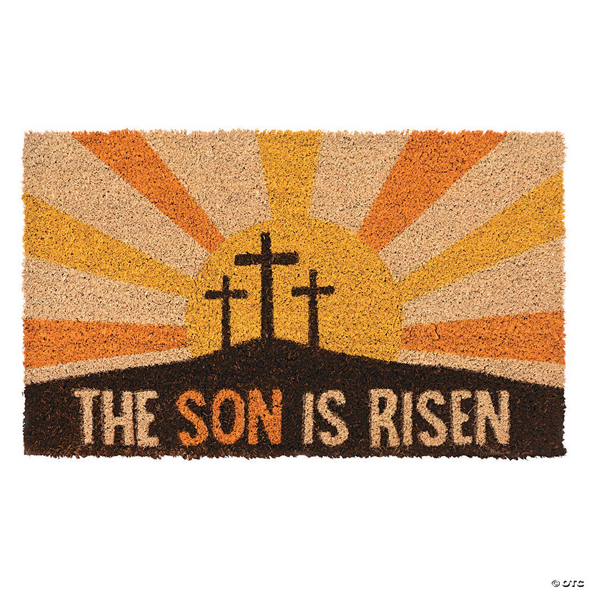He Lives Door Mat Image Thumbnail