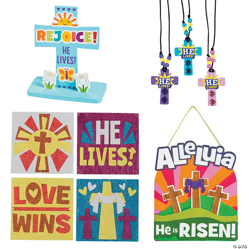 He Lives! Easter Craft Assortment for 12 Image Thumbnail