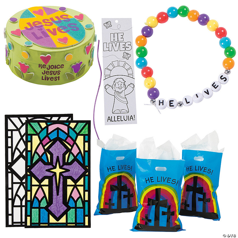 He Lives! Easter Craft Assortment to Go for 48 Image Thumbnail