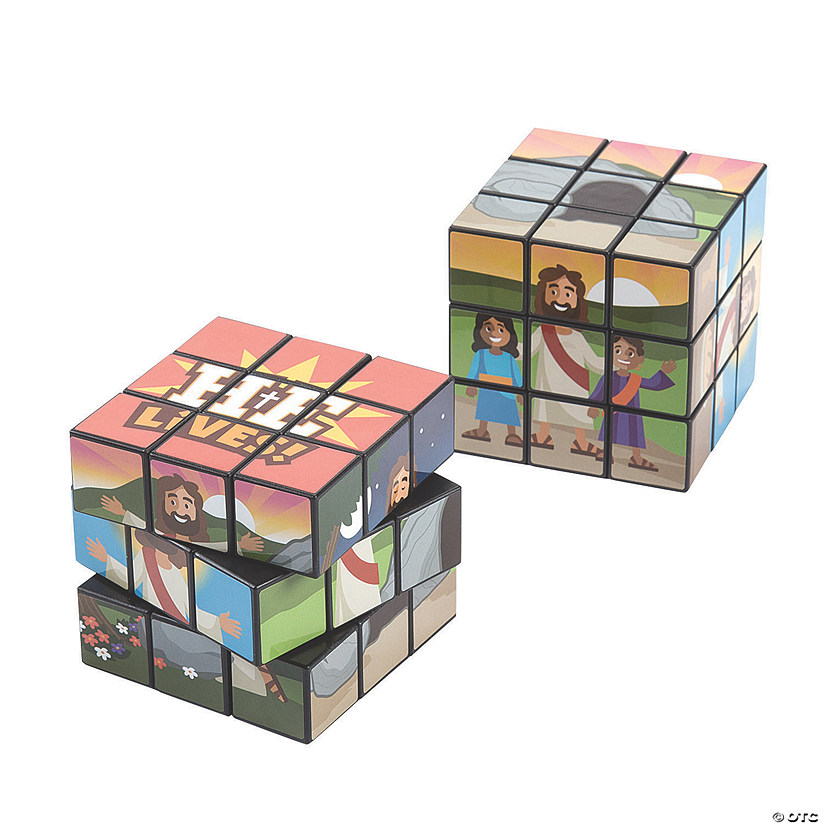 He Lives Puzzle Cubes Audio Thumbnail