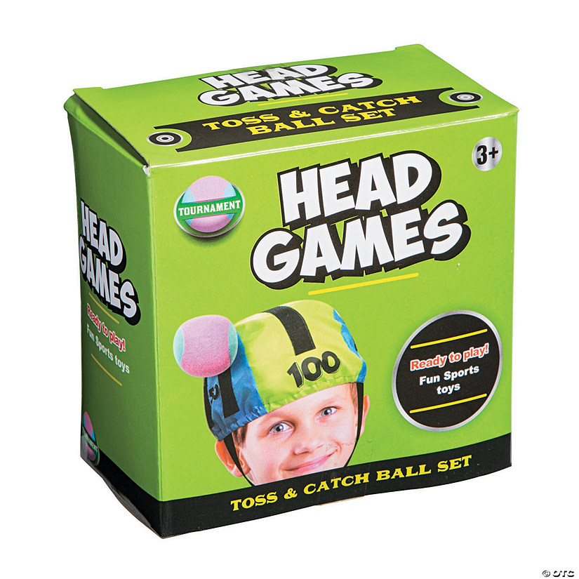 Head Games Toss & Catch Game Set Audio Thumbnail