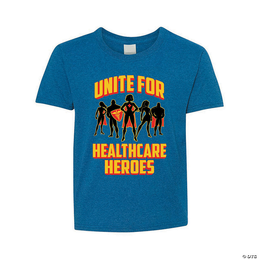 Healthcare Heroes Unite Youth T-Shirt Image Thumbnail