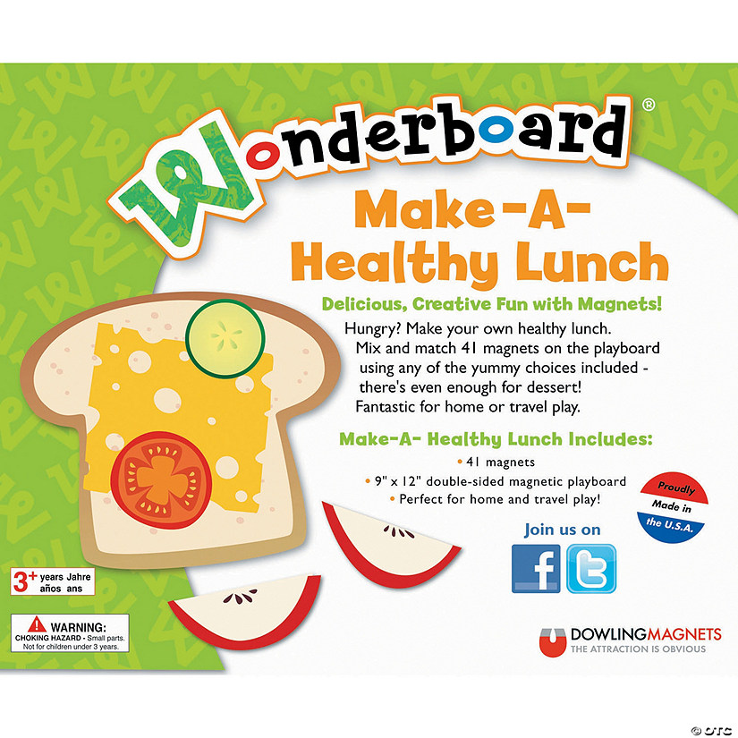 Healthy Lunch Wonderboard Set Image Thumbnail