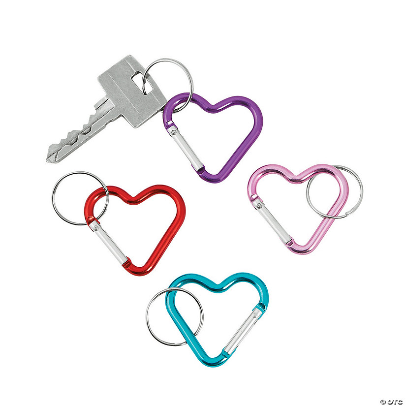 Heart Clip Keychains Image Thumbnail