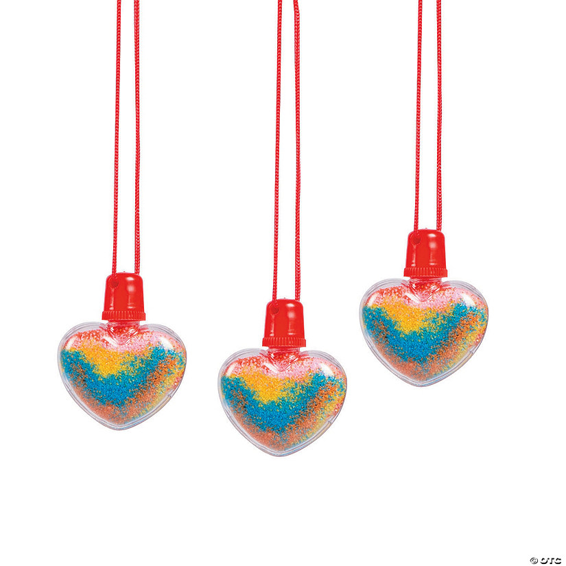 Heart Sand Art Bottle Necklaces Audio Thumbnail