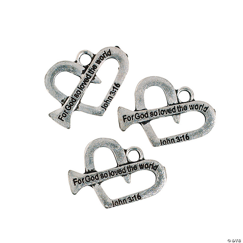Heart-Shaped Nail Charms