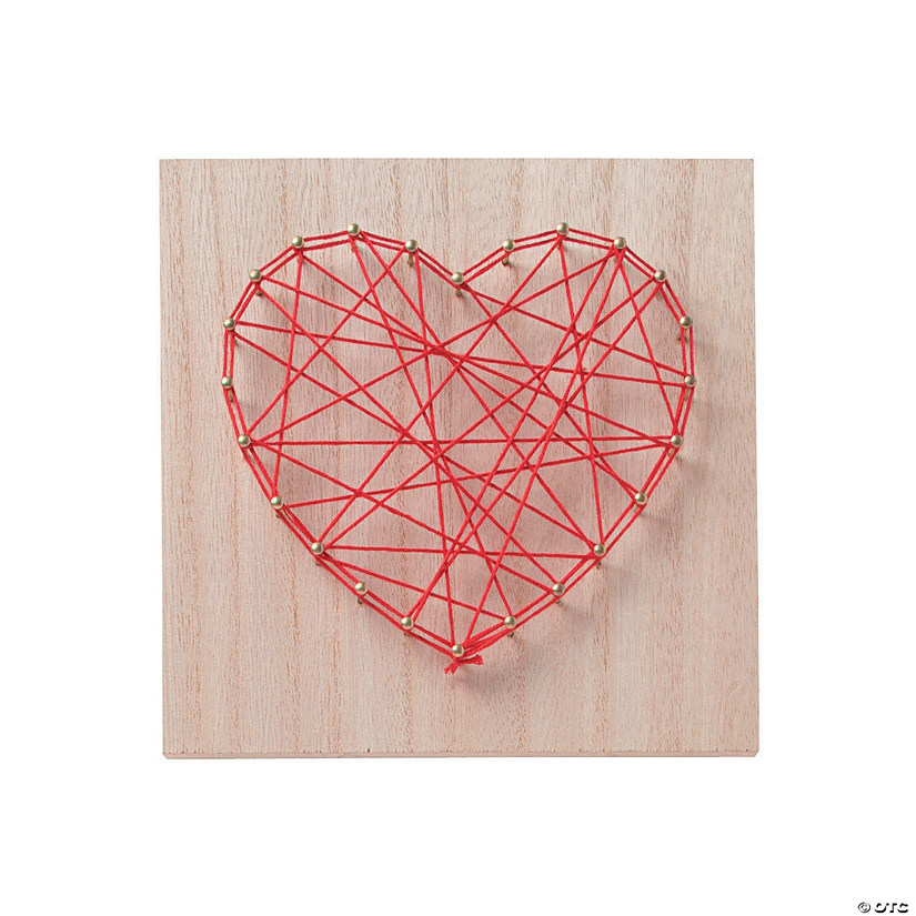 Heart String Art Craft Image Thumbnail