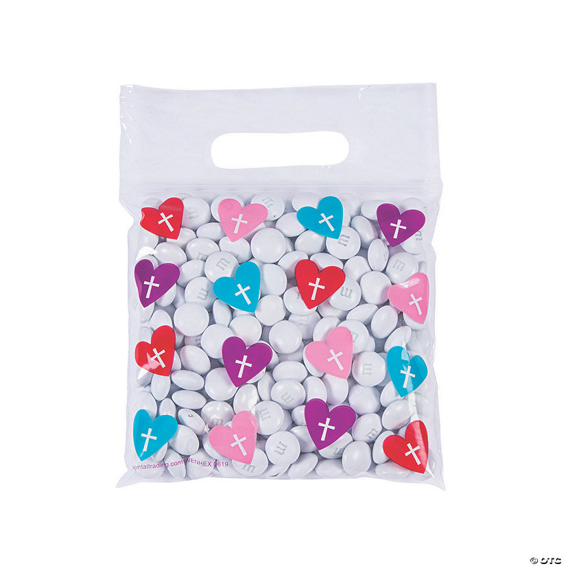 Hearts & Crosses Resealable Mask Storage Bags Image Thumbnail