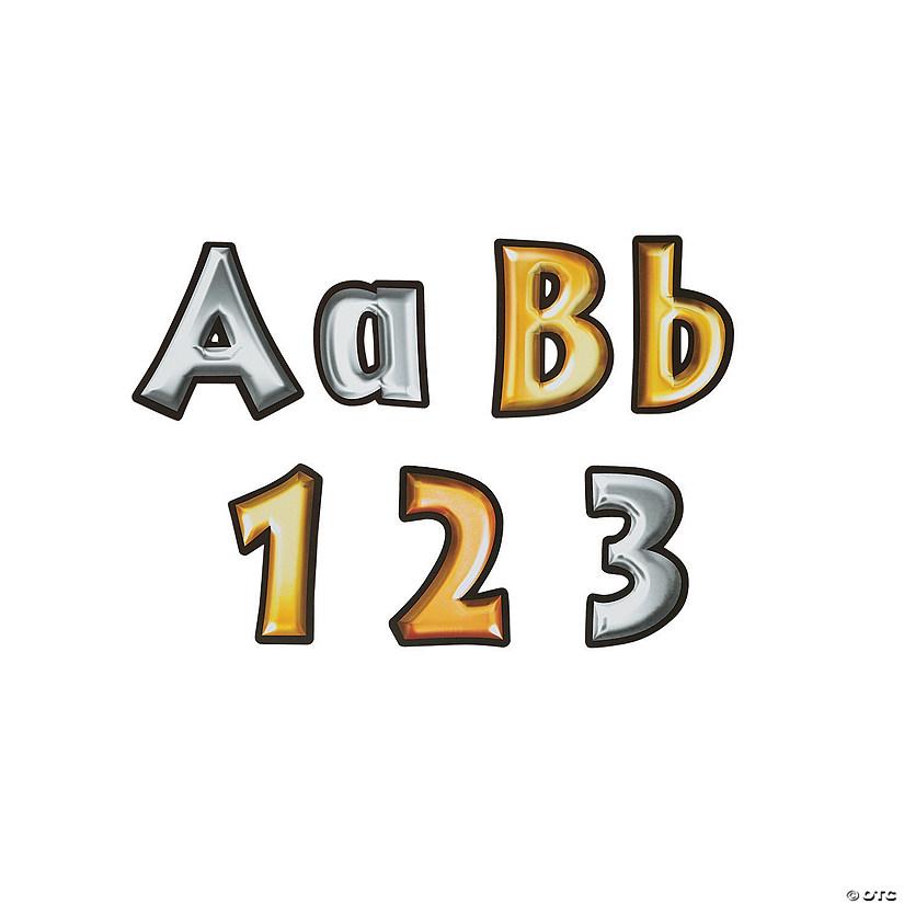 Heavy Metal Bulletin Board Letters Numbers